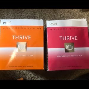 2 boxes of Level Thrive Shakes! New and all sealed